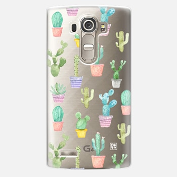 LG G4 Case Watercolour pastel cactus hot summer by imushstore