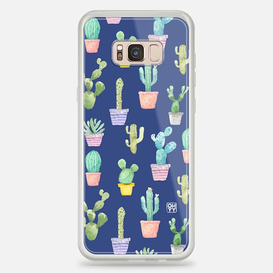 Casetify Samsung Galaxy / LG / HTC / Nexus Phone Case - Watercolor Pastel Cactus HOT Summer By Imushstore