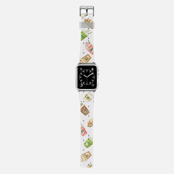 Coffee relax time watercolor white iwatch by imushstore -