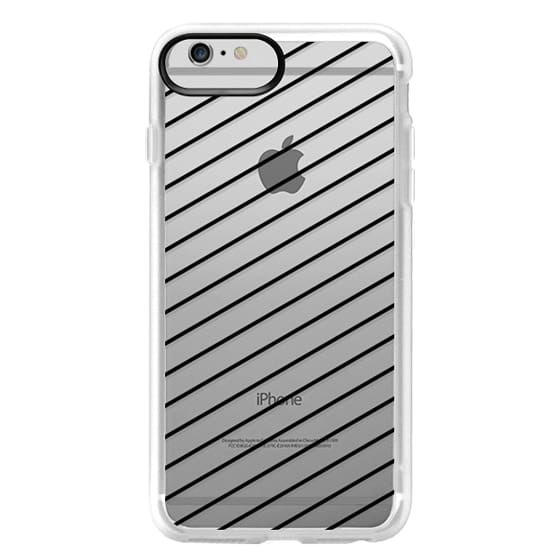 iPhone 6 Plus Cases - Black Line Simple Life by imushstore