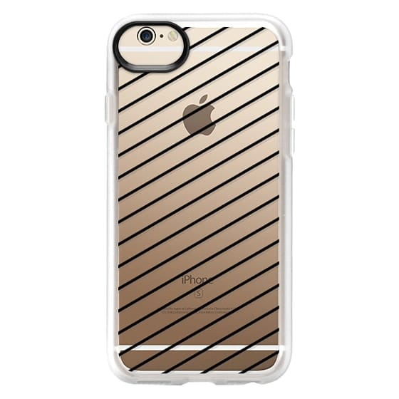 iPhone 6 Cases - Black Line Simple Life by imushstore
