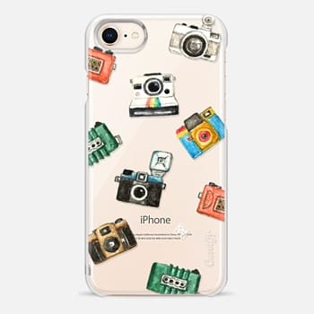 iPhone 8 Case Watercolor love lomo camera by imushstore