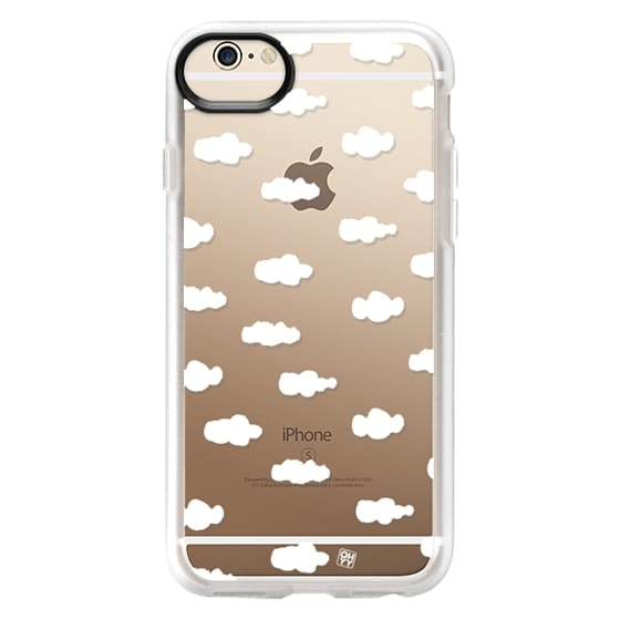 iPhone 6 Cases - Watercolor sky cloud white by imushstore