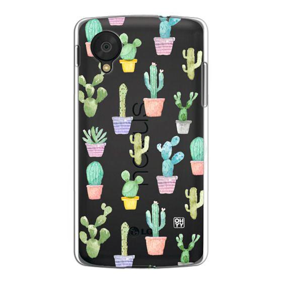 Watercolour pastel cactus hot summer by imushstore