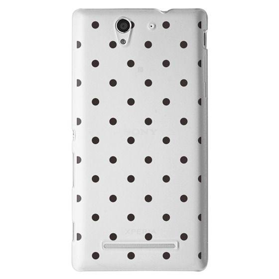 Black dot dot by imushstore