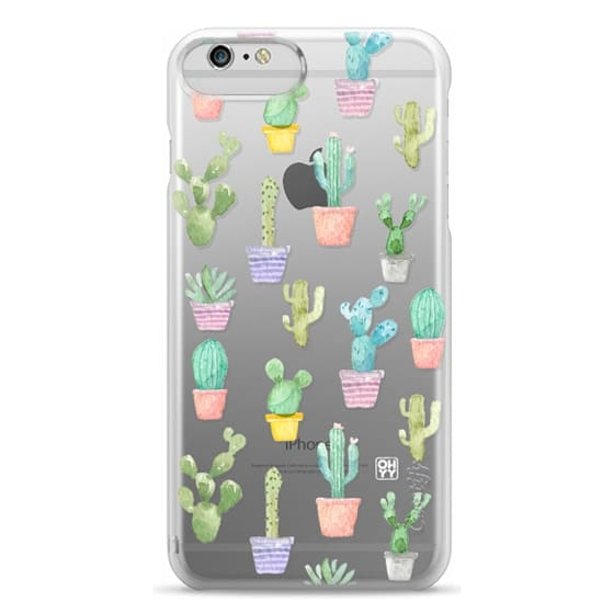 iPhone 6 Plus Cases - Watercolour pastel cactus hot summer by imushstore