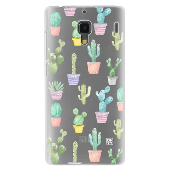 Redmi 1s Cases - Watercolour pastel cactus hot summer by imushstore