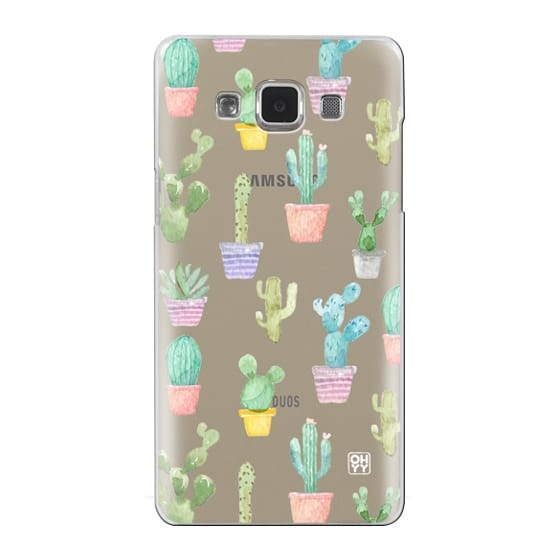 Samsung Galaxy A5 Cases - Watercolour pastel cactus hot summer by imushstore