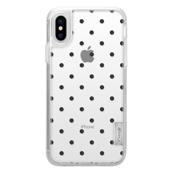 iPhone X Cases - Black dot dot by imushstore