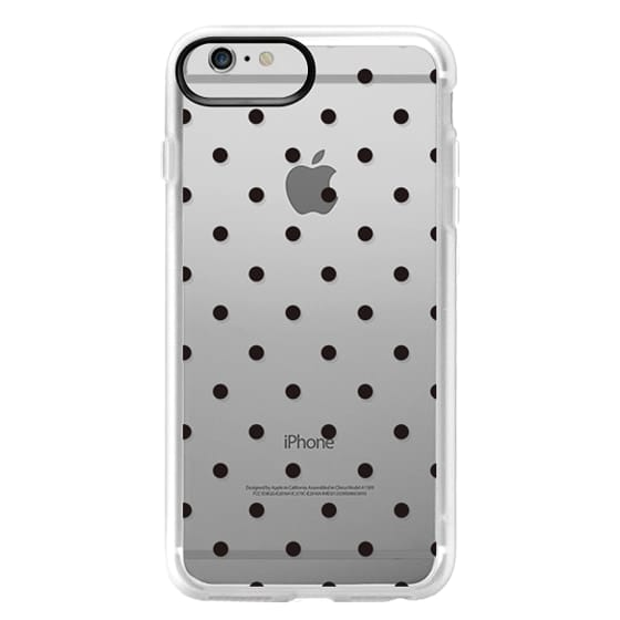 iPhone 6 Plus Cases - Black dot dot by imushstore