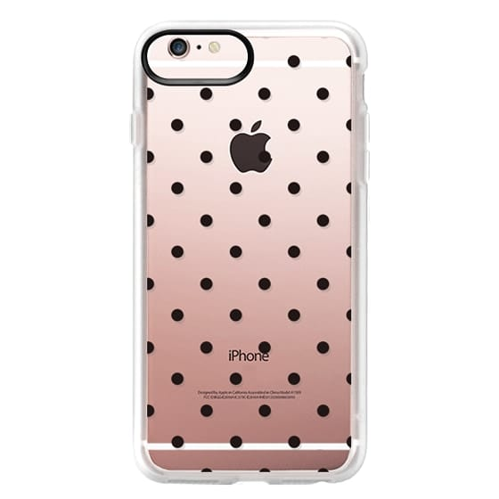 iPhone 6s Plus Cases - Black dot dot by imushstore