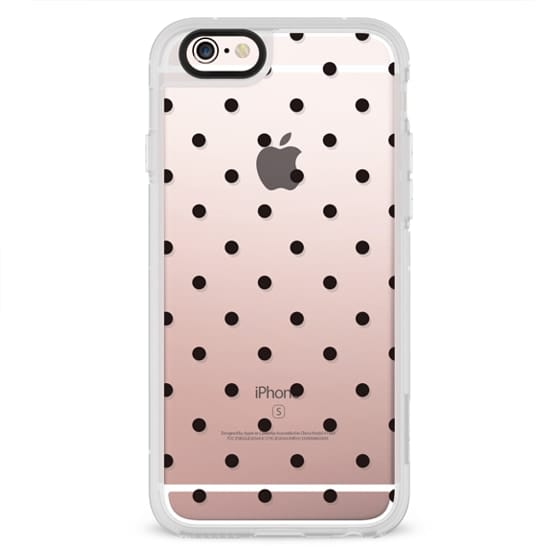 iPhone 6s Cases - Black dot dot by imushstore