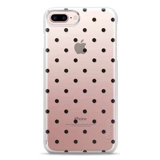 iPhone 7 Plus Cases - Black dot dot by imushstore