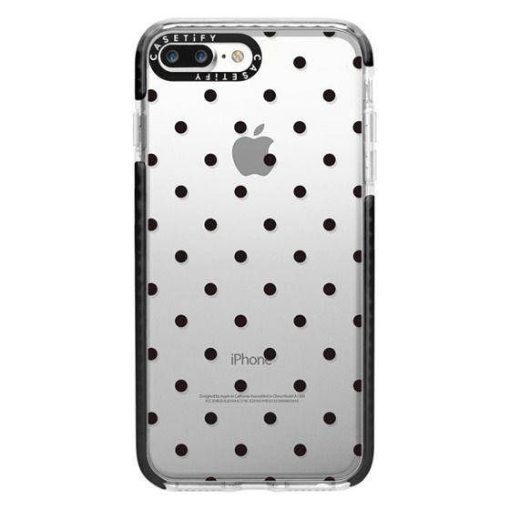 iPhone 7 Plus Cases - Black dot dot by imushstore