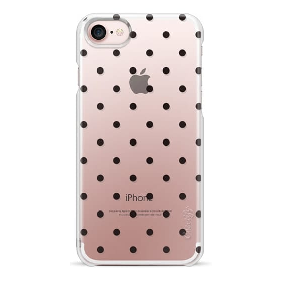 iPhone 7 Cases - Black dot dot by imushstore