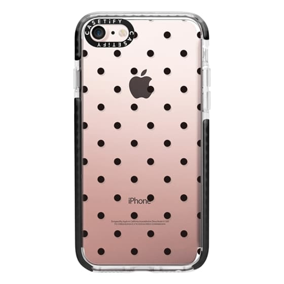iPhone 7 Cases - Black dot dot by imushstore