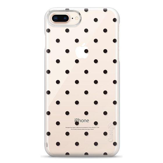 iPhone 8 Plus Cases - Black dot dot by imushstore