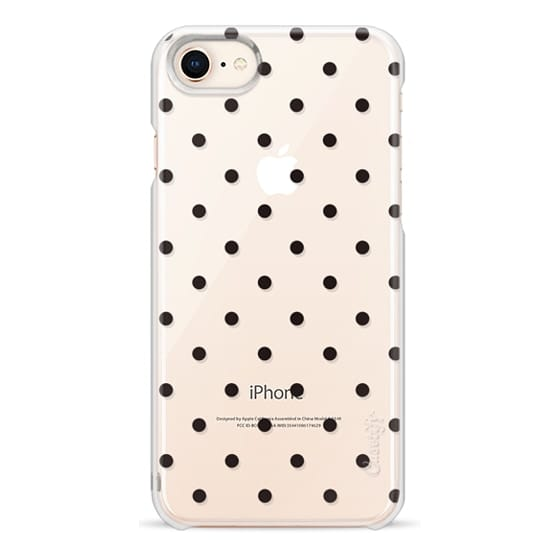 iPhone 8 Cases - Black dot dot by imushstore