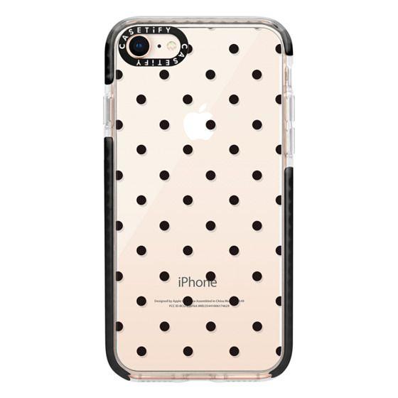 iPhone 8 Cases - Black dot dot by imushstore