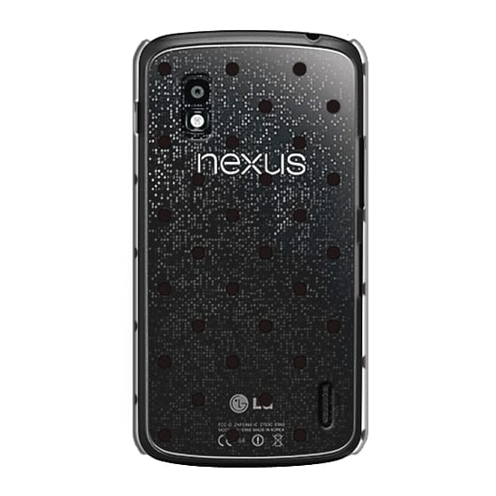 Nexus 4 Cases - Black dot dot by imushstore