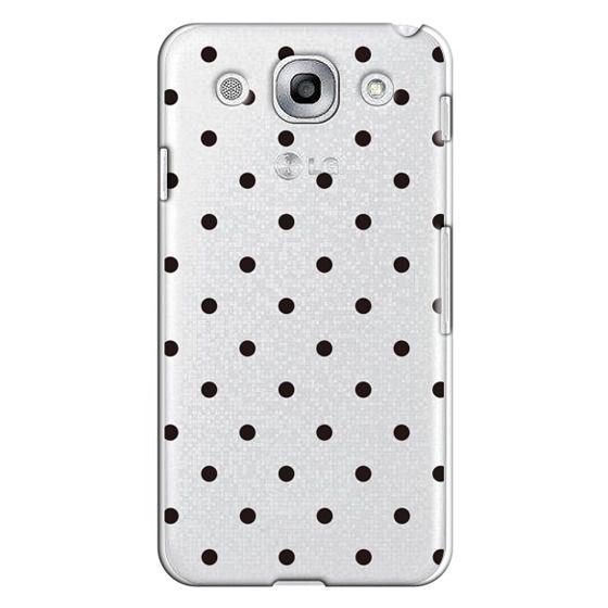 Optimus G Pro Cases - Black dot dot by imushstore