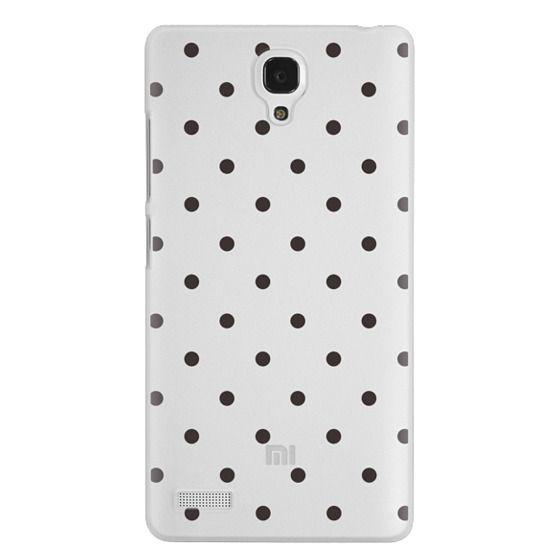 Redmi Note Cases - Black dot dot by imushstore
