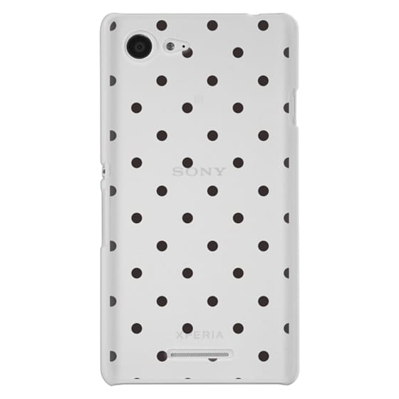 Sony E3 Cases - Black dot dot by imushstore