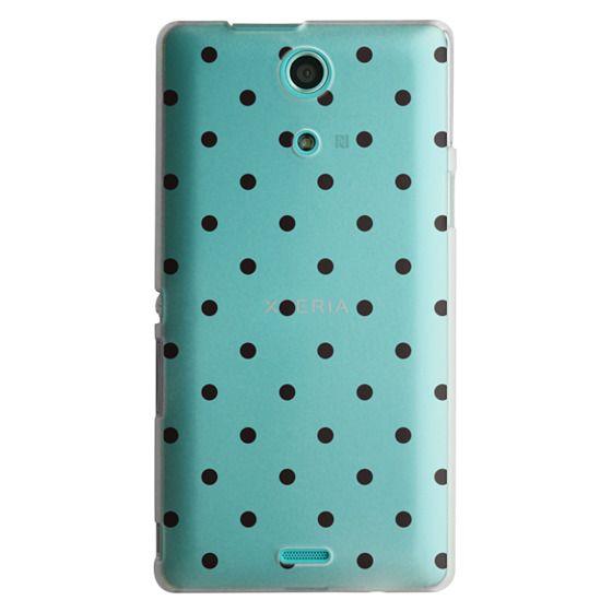 Sony Zr Cases - Black dot dot by imushstore