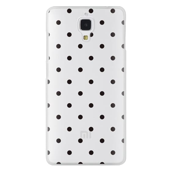 Xiaomi 4 Cases - Black dot dot by imushstore