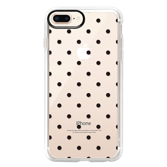 iPhone 8 Plus Cases - Black dot dot by imushstore