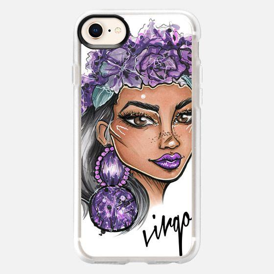 Virgo - Zodiac Series  - Snap Case
