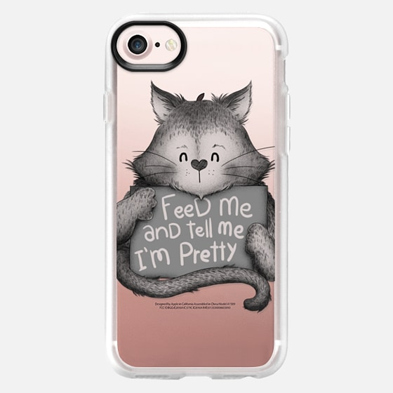 Soft Feed me and Tell me Im Pretty Cat -