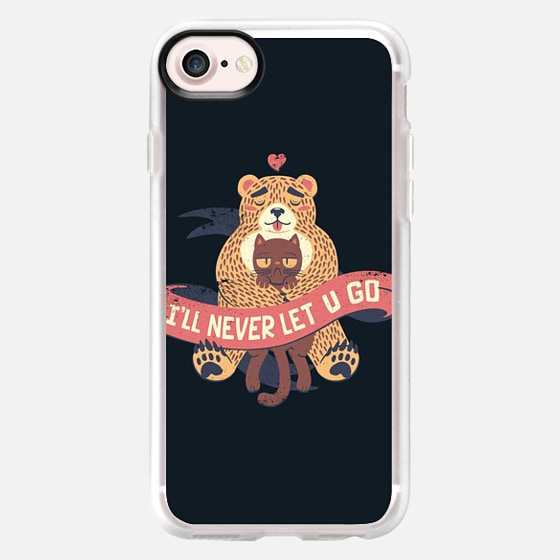 Ill Never Let You Go Bear Love Cat - Classic Grip Case