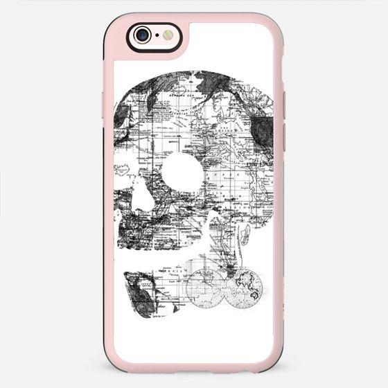 Skull Wanderlust Black and White - New Standard Case
