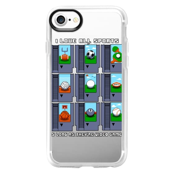 iPhone 7 Cases - Soft I Love All Sports
