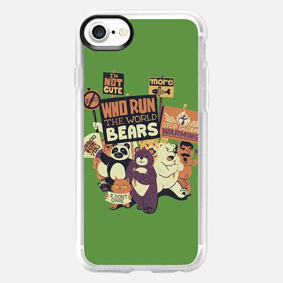 Who Run The World Bears XXX - Classic Grip Case