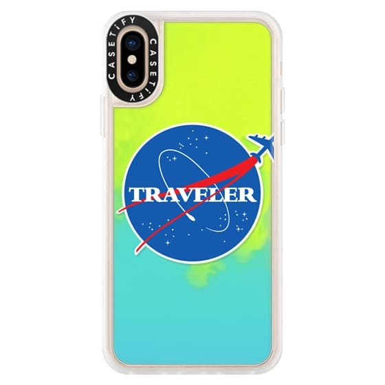 iPhone XS Cases - Soft Interstellar Traveler