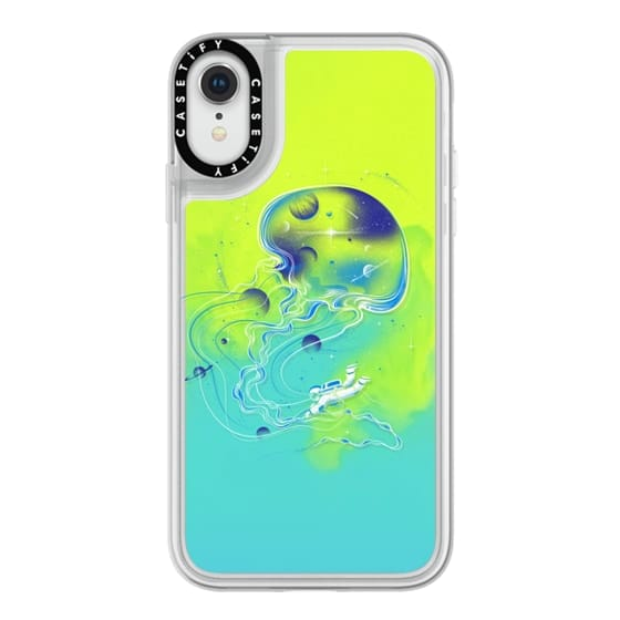 iPhone XR Cases - Soft Universe Is a Big Jellyfish