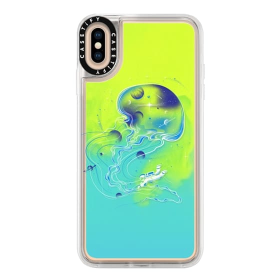 iPhone XS Max Cases - Soft Universe Is a Big Jellyfish