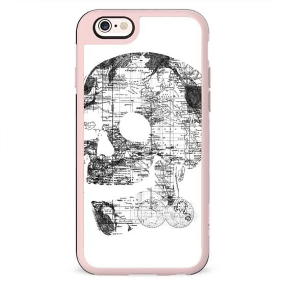 Skull Wanderlust Black and White