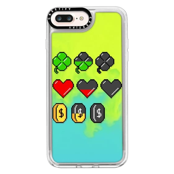 iPhone 7 Plus Cases - Soft Video Game Stats