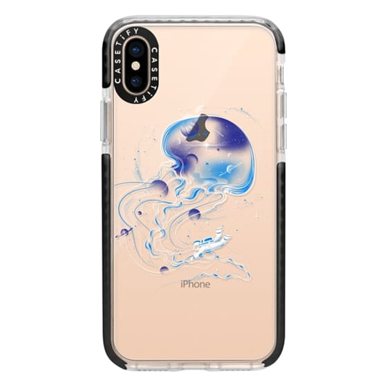 iPhone XS Cases - Soft Universe Is a Big Jellyfish