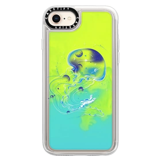 iPhone 8 Cases - Soft Universe Is a Big Jellyfish