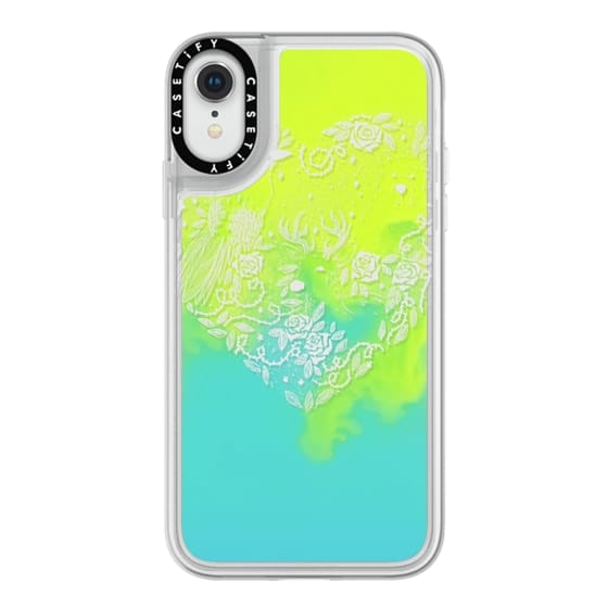 iPhone XR Cases - Foggy Forest Soft