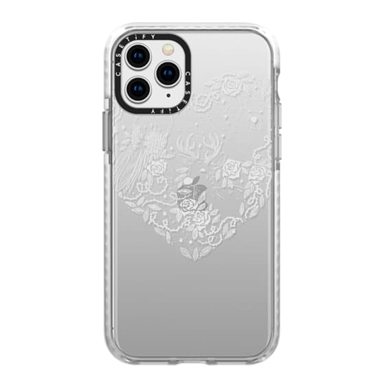 iPhone 11 Pro Cases - Foggy Forest Soft
