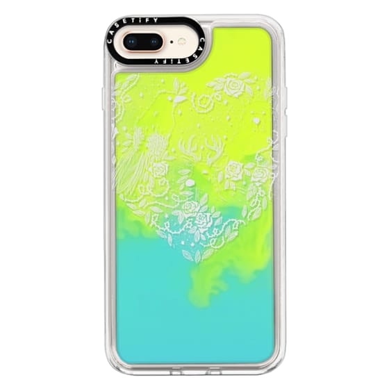 iPhone 8 Plus Cases - Foggy Forest Soft