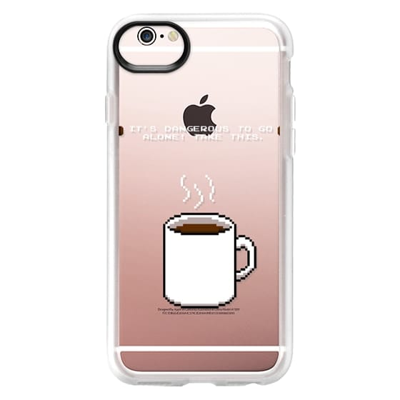 iPhone 6s Cases - Soft Its dangerous to go alone Take this coffee