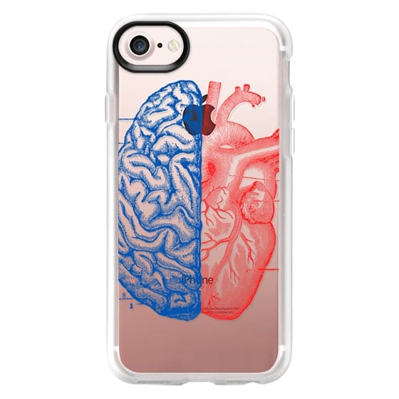 iPhone 7 Cases - Soft Heart and Brain