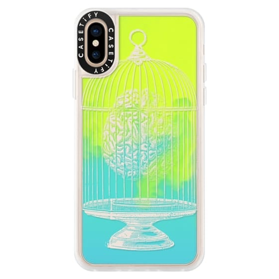 iPhone XS Cases - Soft Free My Mind