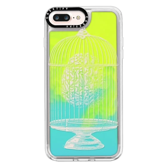 iPhone 7 Plus Cases - Soft Free My Mind